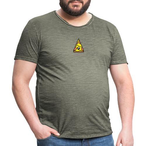 EyePizza - Mannen Vintage T-shirt