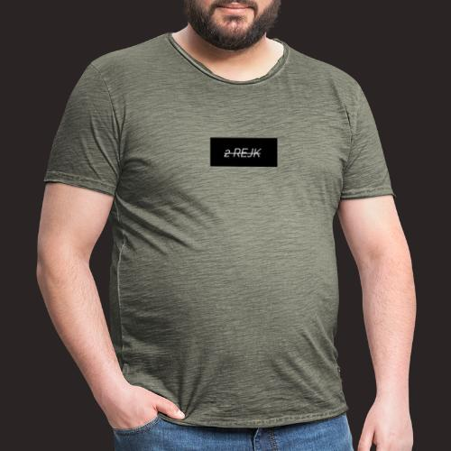 2rejk - Miesten vintage t-paita