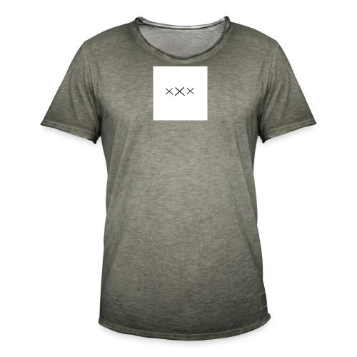 xxx2 - Männer Vintage T-Shirt