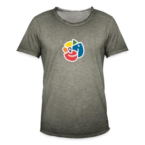 Mångfaldsros - Vintage-T-shirt herr