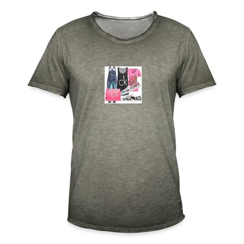outfit pace e amoreio amo il colore - Maglietta vintage da uomo