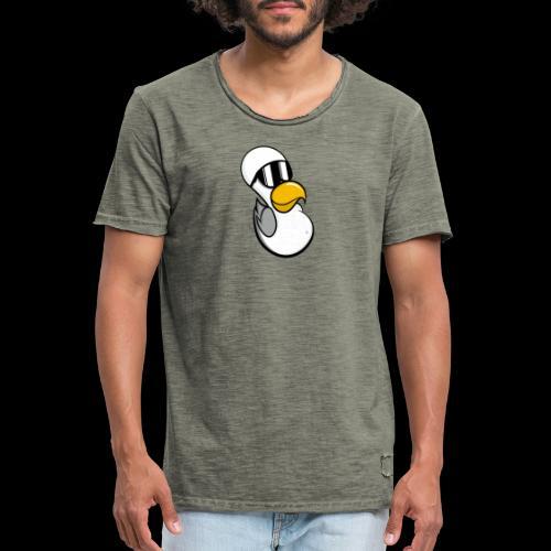 Moinsen Möwe - Männer Vintage T-Shirt