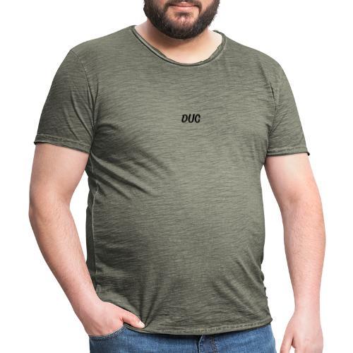 Duc noir - T-shirt vintage Homme