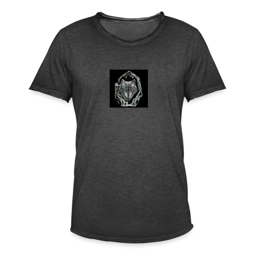 Crystal Wolf - Men's Vintage T-Shirt