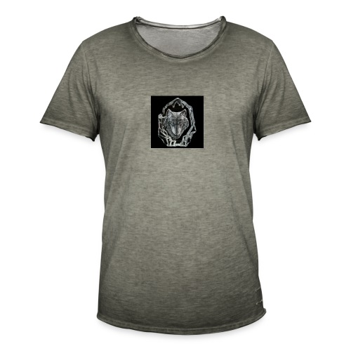 Crystal Wolf - Men's Vintage T-Shirt