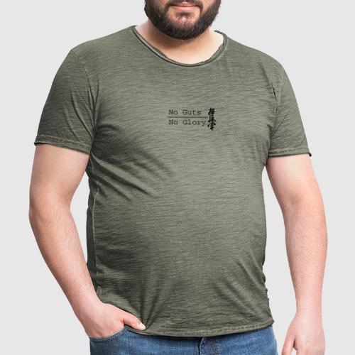 No guts No glory logo - Mannen Vintage T-shirt