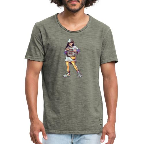 Freiburg | Gold School - Straight outta FRBG - Männer Vintage T-Shirt