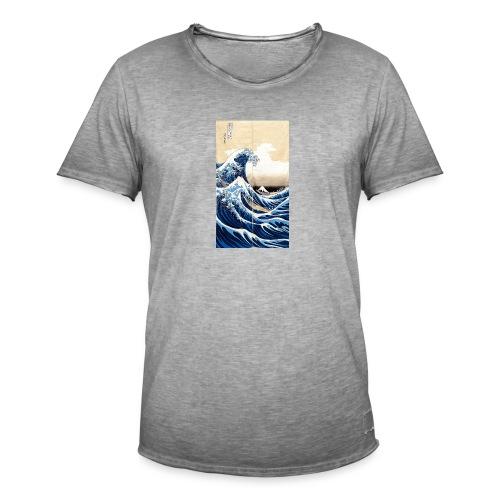 La grande vague de Kanagawa - T-shirt vintage Homme
