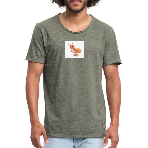 T-Shirts und Blusen mit Ameise - Männer Vintage T-Shirt