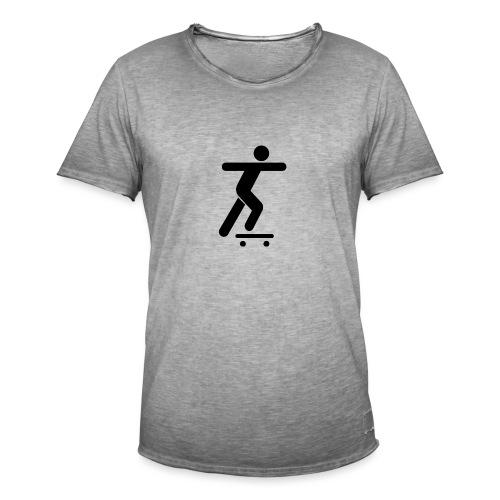 Skater - Männer Vintage T-Shirt