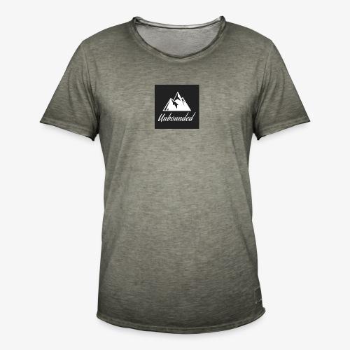 logo black - Men's Vintage T-Shirt