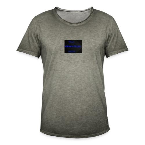 jerkku - Miesten vintage t-paita