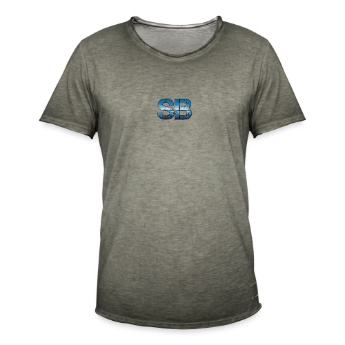 SB Logo - Herre vintage T-shirt