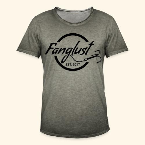 Fanglust Logo Kreis - Männer Vintage T-Shirt
