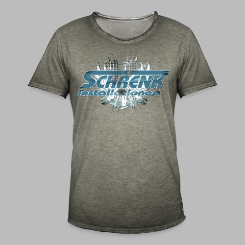 SCHRENK USEDTOOLZ 20 (40° verkehrt waschen) - Männer Vintage T-Shirt
