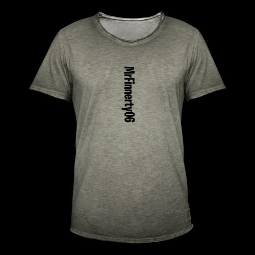 Name Tekst - T-shirt vintage Homme