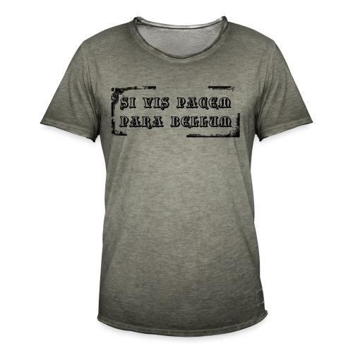 Si vis pacem - T-shirt vintage Homme