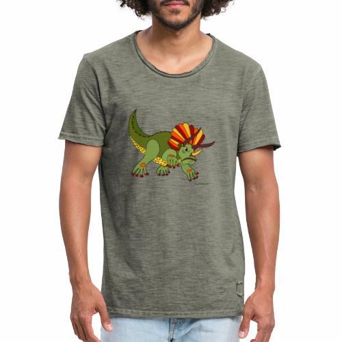Rhino - Männer Vintage T-Shirt