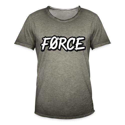 K - Mannen Vintage T-shirt