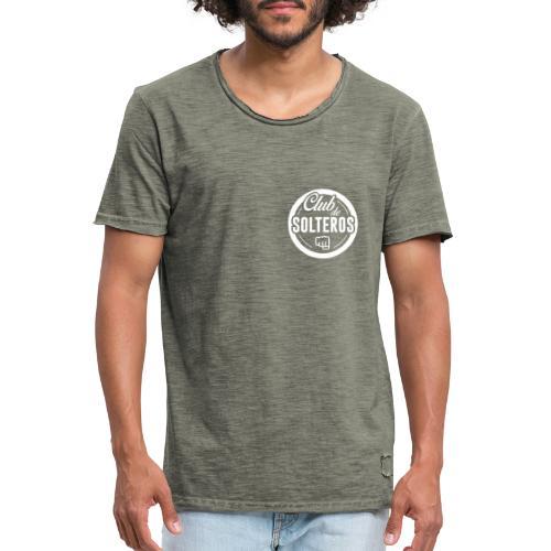 Club de Solteros (logo blanco) - Camiseta vintage hombre