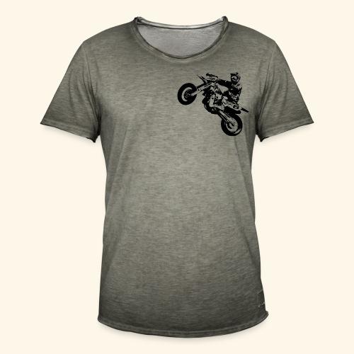 Wheelie Design - Männer Vintage T-Shirt
