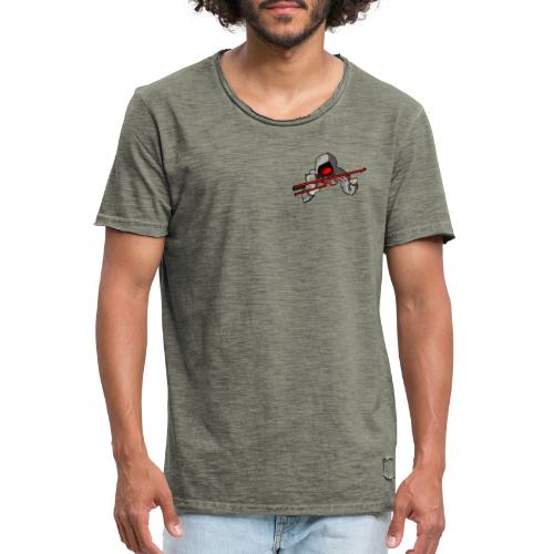 hEATZ LOGO - Männer Vintage T-Shirt