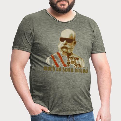 Kaiser Franz Bahöö - Männer Vintage T-Shirt