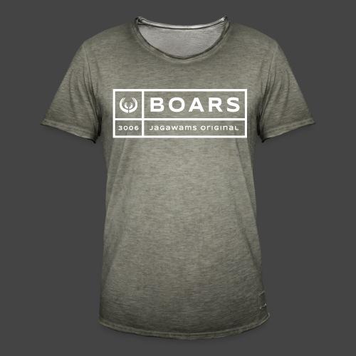 boars block 3006 - Männer Vintage T-Shirt