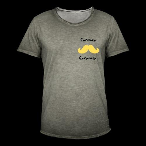 Bigote Caramba Dark - Camiseta vintage hombre
