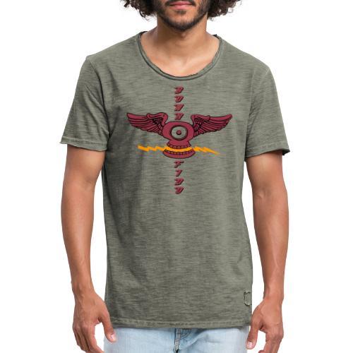 Bona Fido Flying Skull - Men's Vintage T-Shirt