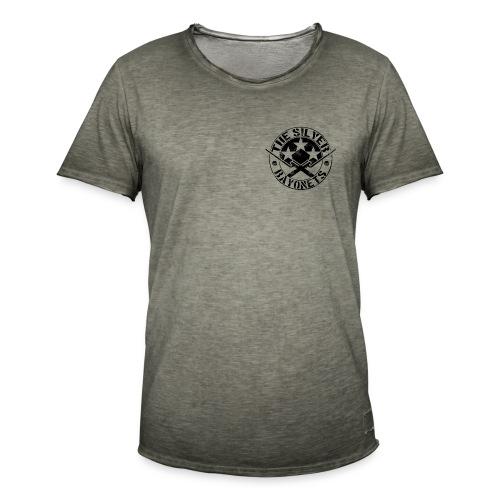 The Silver Bayonets (Logo) - Men's Vintage T-Shirt