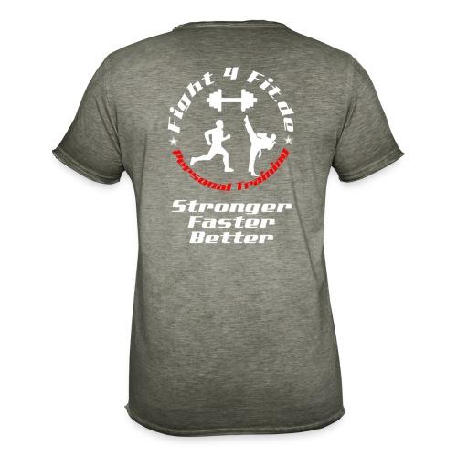 logo tri 3 - Männer Vintage T-Shirt