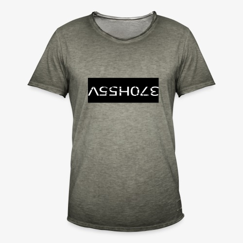 ASSHOLE Design - Mannen Vintage T-shirt