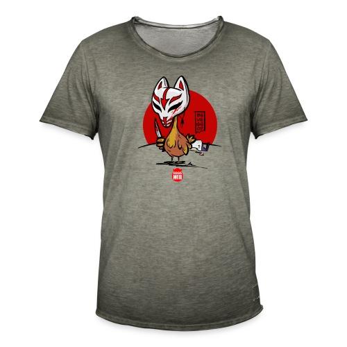 BeVegeOr ... chickenwar - Men's Vintage T-Shirt