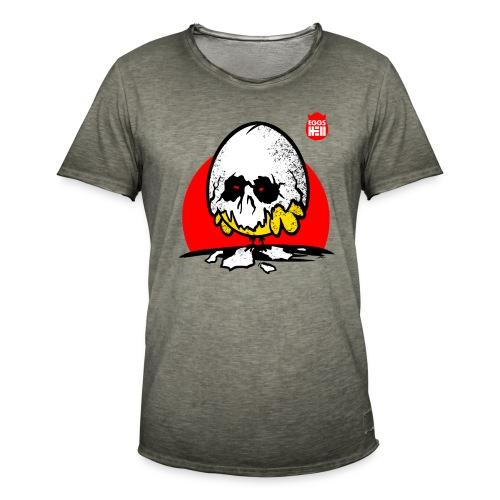 Eggshell skull - easter egg - Men's Vintage T-Shirt