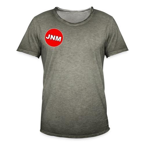 JustNotMe logo design - Mannen Vintage T-shirt