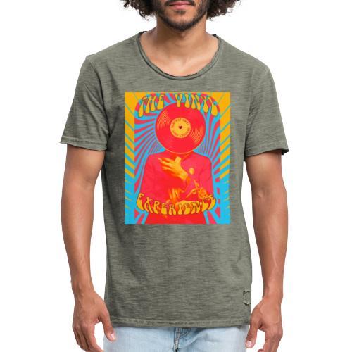 Vinyl Experience • Respect Vinyl - Männer Vintage T-Shirt