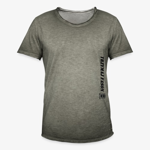 logo napis2 - Koszulka męska vintage