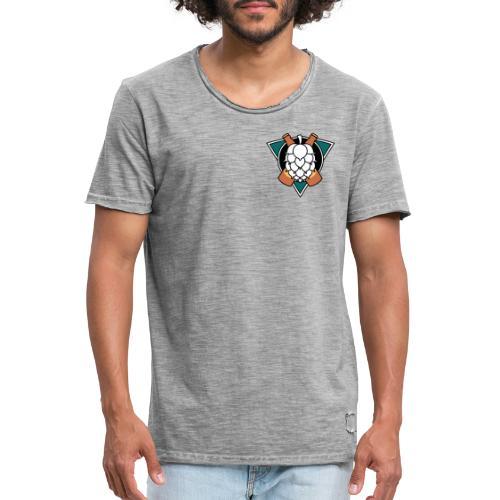 Mighty hops Original logo - Vintage-T-shirt herr