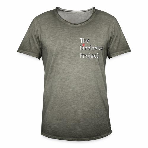 The kindness project - Men's Vintage T-Shirt