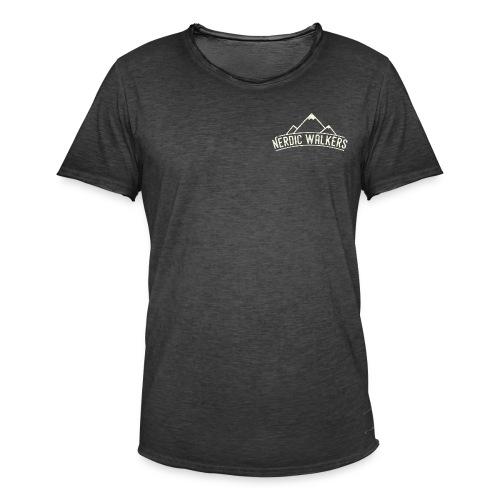 Logo Nerdic Walking offwhite - T-shirt vintage Homme
