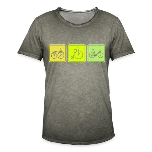 Bike Evolution - Men's Vintage T-Shirt