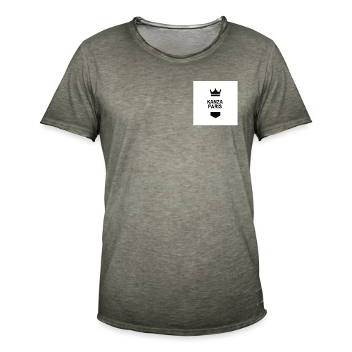 kanza paris - T-shirt vintage Homme