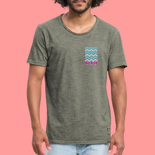 Wave - Vintage-T-shirt herr