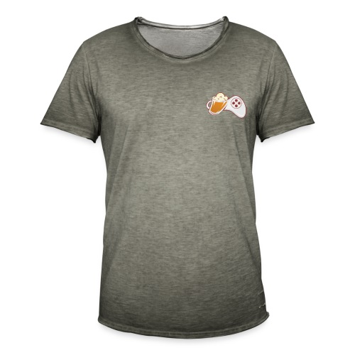 LOGO BISTRO GAMER - T-shirt vintage Homme