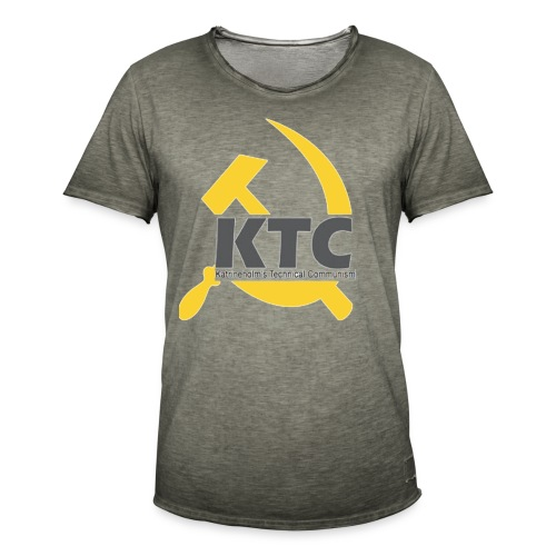 kto communism shirt - Vintage-T-shirt herr