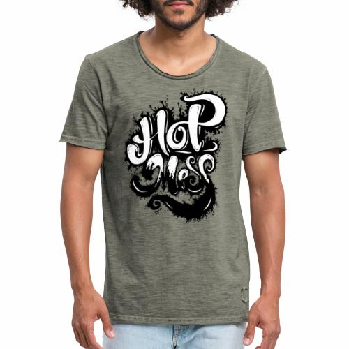 Hot Mess - Tattoo Urban Ink Graffitti - Herre vintage T-shirt