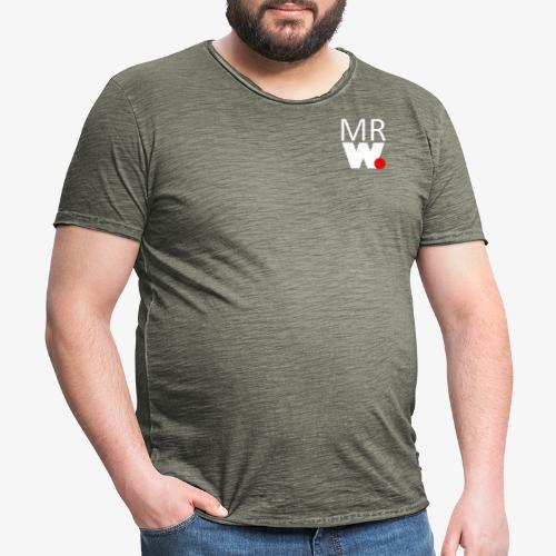 MR W Logo - Men's Vintage T-Shirt