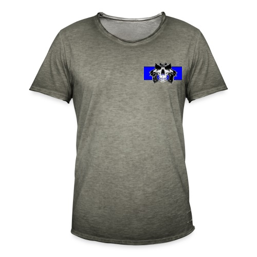 salduie black - Camiseta vintage hombre