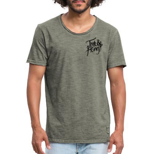TtbH Logo Schwarz - Männer Vintage T-Shirt
